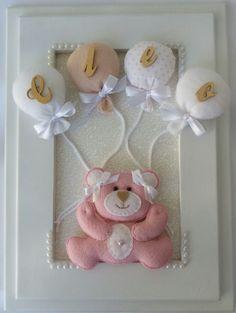Decoração Maternidade e quarto do bebê em feltro
