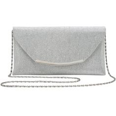 M&Co Sparkle Clutch Bag ($18) ❤ liked on Polyvore featuring bags, handbags, clutches, silver, party clutches, black crossbody purse, sparkly purses, black crossbody handbag and black handbags