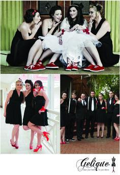 Bridesmaid dresses by Gelique