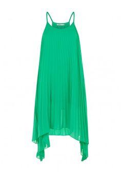 Darling Winnie Strappy Dress in Green