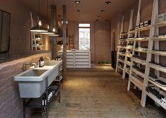 Ambientes vintage: Aesop | Studio KO | http://www.bimbon.com.br/projeto/aesop_ambientes_interiores_vintage_retro