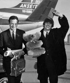 Brian Epstein and Ringo