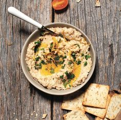 Instead of chickpeas, try making that next bowl of hummus with cauliflower. It's a fun way to sneak veggies into an easy dipping favourite.