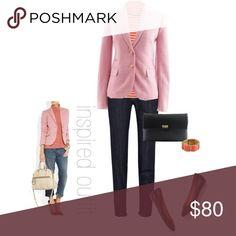 J.Crew pink wool schoolboy blazer New without tags, size 2 Wool schoolboy blazer J. Crew Jackets & Coats Blazers