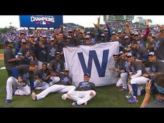 Chicago Cubs NLC champions 2016