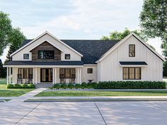 050H-0322: Country Ranch House Plan; 2025 sf