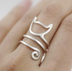 Cat Ring For Women and Young Girls