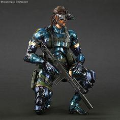 Play Arts Kai MGSV Snake (Metallic)
