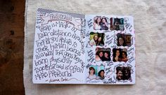 My 2012 Sketchbook Project Journal - Competed