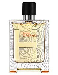 From Hermès, Terre d'Hermès in a new limited edition 'Flacon H' bottle.