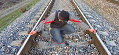 How to Charge a Cell Phone on Train Tracks --WonderHowTo