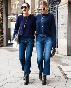 Outfit Jeans, Cropped Jeans Outfit, Jeans Outfit Winter, Crop Jeans, Crop Flare Jeans, Blue Jeans, Jeans Outfit For Work, Women's Jeans, Mode Outfits
