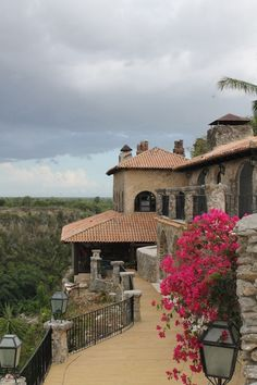 Altos de Chavon, 16th century village filled with old world charm. Breathtaking views of the Chavon River along with great restaurants.  DOMINICAN REPUBLIC