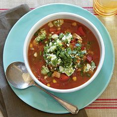 Our Favorite Healthy Soups.  Though nothing can beat cuddling up with a warm bowlful on a chilly night, soups aren't only game for the winter months. These healthy recipes will become staples all year long. The best part? We have included selections that take advantage of each season's bountiful produce and seasonal spices.