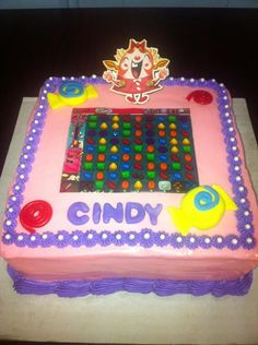 48 Best Candy Crush Cakes Images