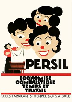 Vintage Advertising Posters   Persil soap