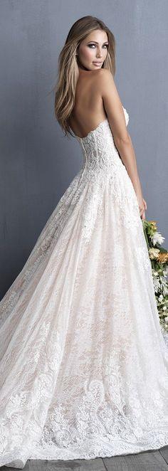 Allure Couture C481 from Allure Bridals Spring 2018 #GownoftheWeek #weddingdress #bridalgown