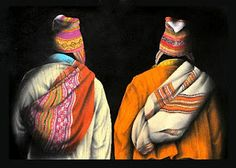 Of all the wonderfully haunting art I ran across in Bolivia, Eusebio Choque really stood out to me. Peruvian Art, Bolivia Travel, Mexico Culture, Textile Fiber Art, Mexican Art, Pretty Art, South America, Folk Art, Watercolor