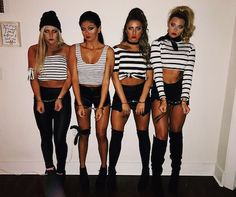 Hot College Halloween Costumes easy halloween costumes t. - Hot College Halloween Costumes easy halloween costumes to copy Source by - Cute Group Halloween Costumes, Couples Halloween, Trendy Halloween, Halloween Make, Halloween 2018, Halloween College, Couple Costumes, Robber Halloween Costume, Woman Costumes
