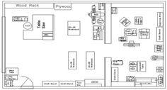 Workshop Floor Plan - Bob Vila...
