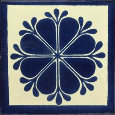 Traditional Mexican Tile - Amapola