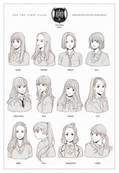 Exo version girls
