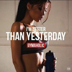@urbaesbae15✨ Sport Motivation, Fitness Motivation Quotes, Health Motivation, Weight Loss Motivation, Sport Fitness, Fitness Goals, Health Fitness, Yoga Fitness, Yoga Routine