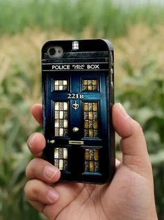 ALL OF MY WANT. Tardis/221B door phone case. For all Sherlock, Dr Who and BBC fans.