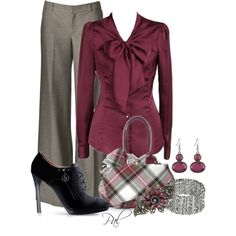 Lady in Red, created by pamlcs on Polyvore