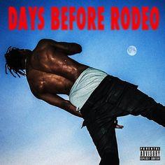 "New free album from Travis Scott ""Days Before Rodeo"" Travis Scott Album, Travis Scott Rodeo, Rapper Travis Scott, Rap Album Covers, Iconic Album Covers, Music Covers, Rap Albums, Music Albums, Rap Music"