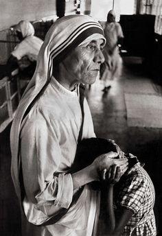 Mother Teresa by Raghu Rai