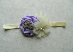 Lavender & Ivory HeadbandSofia The First by InspiredByEmilyGrace, $9.00