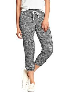 The marled texture make these pants more than your average sweats. Available up to size XXL.  Old Navy, $22.94.