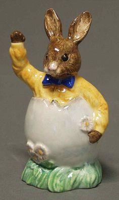 royal doulton figurines | Royal Doulton Bunnykins Figurines Easter Greetings | eBay