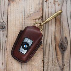Keyless Entry Jacket for BMW #001 - Dark Brownの画像1枚目