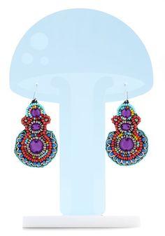 Beauty and the Bead Earrings, #ModCloth