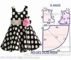 Baby Girl Dress Patterns, Baby Clothes Patterns, Dress Sewing Patterns, Little Girl Dresses, Clothing Patterns, Baby Dresses, Peasant Dresses, Sundress Pattern, Girls Dresses Sewing