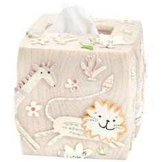 Animal Crackers Tissue Holder