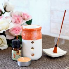 Iris Fragrance Gift Set - Orange Blossom - Orange blossom is the best wintertime aromatherapy oil! Bring home this fragrance set that will help you in creating a relaxing ambience in your living place. You can also gift this set to your friend on his wedding anniversary.