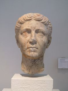 CE) Female Portrait from the Sanctuary of Isis Ancient Rome, Female Portrait, Museum, Ads, Statue, Antiquities, Photo And Video, Photos, Roman Art