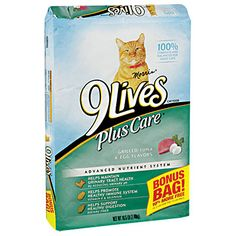 9 Lives Plus Care® Cat Food at Big Lots.