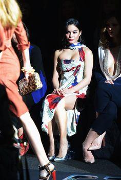 Vanessa Hudgens Photo -  Day 4 - Fall 2013 Mercedes-Benz Fashion Week - Diane Von Furstenberg Fall 2013 fashion show