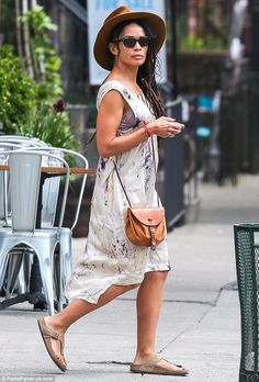 Like mother, like daughter: Zoe looked just like her mother - pictured here in New York Ci...