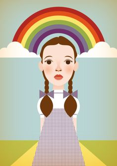 Wizard of Oz  Stanley Chow Illustration