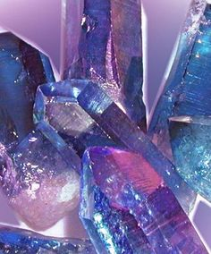 Tanzine or Indigo Aura Quartz for the third eye