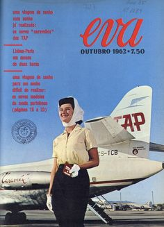 Todos os tamanhos | Publicidade à TAP | Advertising TAP | Flickr –… Vintage Advertising Posters, Vintage Travel Posters, Vintage Advertisements, Vintage Ads, Sud Aviation, Flight Attendant Life, Commercial Aircraft, Poster Pictures, Aircraft Design