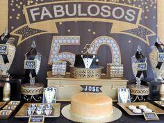 Black and Gold Tuxedo Birthday Party Ideas | Photo 2 of 39