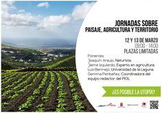 Según se recoge en la web del Cabildo de Lanzarote, esta instituciónorganiza los próximos 12 y 13 de marzo de 2015 unas Jornadas sobre Paisaje, Agricultura y Territorio, tituladas '¿Es posible la ...