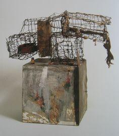 Robert Rauschenberg Three Traps for Medea, 1959 Robert Rauschenberg Foundation Robert Rauschenberg, Abstract Sculpture, Sculpture Art, Metal Sculptures, Land Art, Contemporary Sculpture, Contemporary Art, Pop Art, James Rosenquist