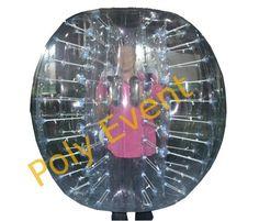 Location Bubble Foot ou Body Bumper - Boule gonflable - Jeu de foot aumusant